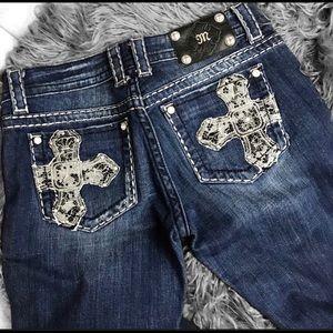 Miss Me Jeans; Bootcut 28x32